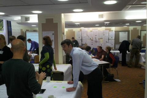 Action planning at one of the RHPP2 workshops - see recent projects